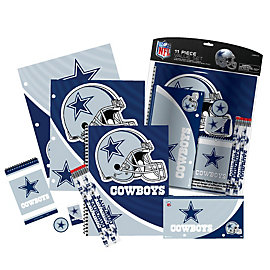Dallas Cowboys 11 Piece Stationery Value Pack