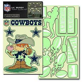 Dallas Cowboys Lil Buddy Team Glow Stickers