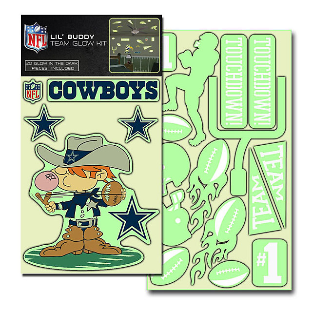 Dallas Cowboys Lil Buddy Team Glow Stickers