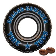 Dallas Cowboys Tire Toss Game