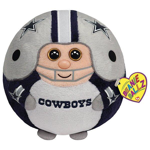 Dallas Cowboys TY Beanie Ball - 13 inch