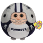 Dallas Cowboys TY Beanie Ball - 13 inch