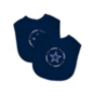 Dallas Cowboys 2-Pack Navy Embroidered Bibs