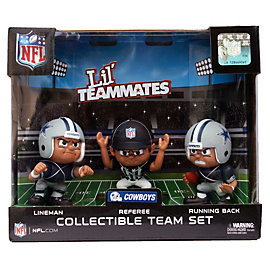 Dallas Cowboys Lil' Teammates 3-Pack Gift Set