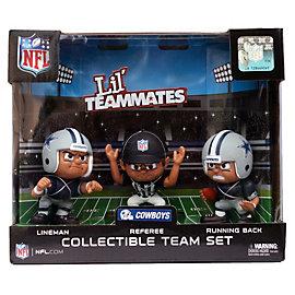 Dallas Cowboys Lil' Teammates 3-Pack Gift Set