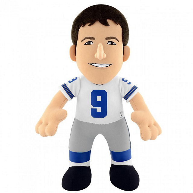 "Dallas Cowboys Tony Romo 10"" White Jersey Bleacher Creature"