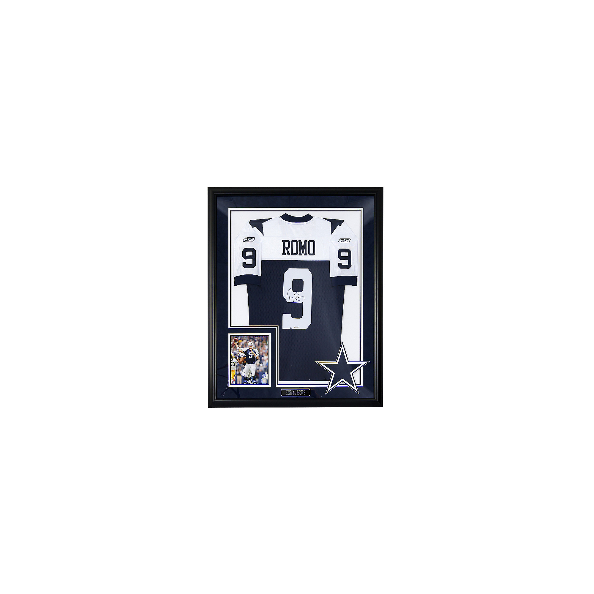 free shipping 9cd1c 99462 Dallas Cowboys Tony Romo Autograph Throwback Jersey | Dallas ...