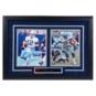 Dallas Cowboys Staubach & Dorsett Autographed Framed Photos