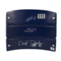 Dallas Cowboys Aikman, Smith, Johnston Autographed Seat Back