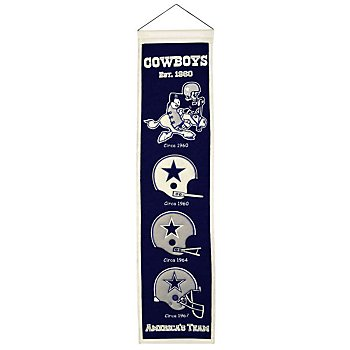 Dallas Cowboys Heritage Banner
