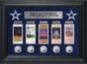 Dallas Cowboys Ticket and Coin Collection Frame