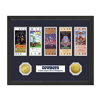 Dallas Cowboys Super Bowl Championship Ticket Collection