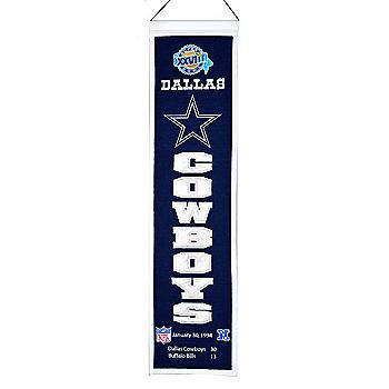Dallas Cowboys Super Bowl XXVIII Heritage Banner