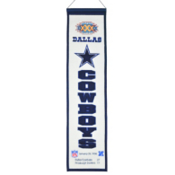 Dallas Cowboys Super Bowl XXX Heritage Banner
