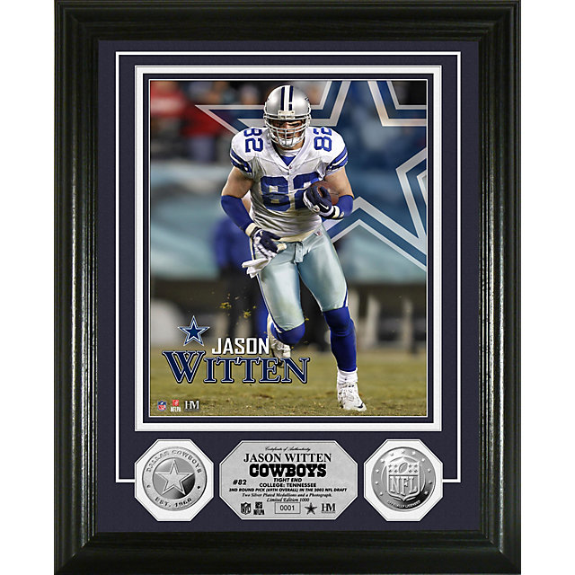 Dallas Cowboys Witten Silver Coin Photo Mint