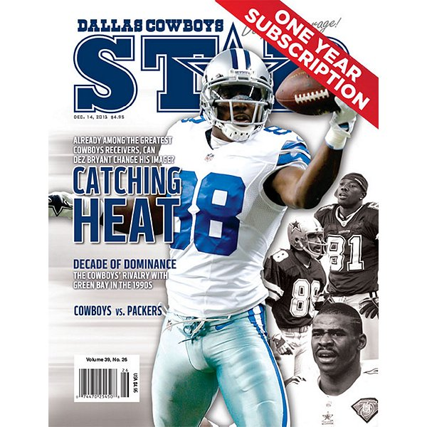 Dallas Cowboys Star Magazine Subscription