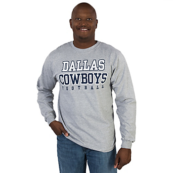 Dallas Cowboys Long Sleeve Practice T-Shirt