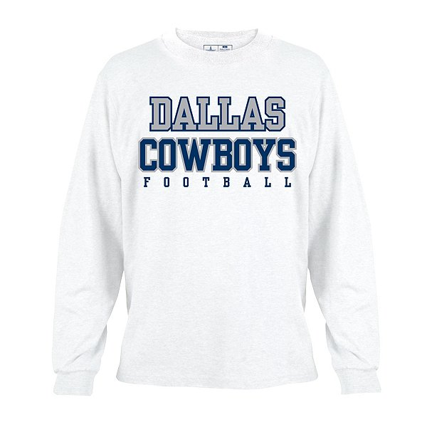 Dallas Cowboys Youth Practice Long Sleeve Tee