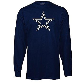 Dallas Cowboys Youth Logo Premier Long Sleeve T-Shirt
