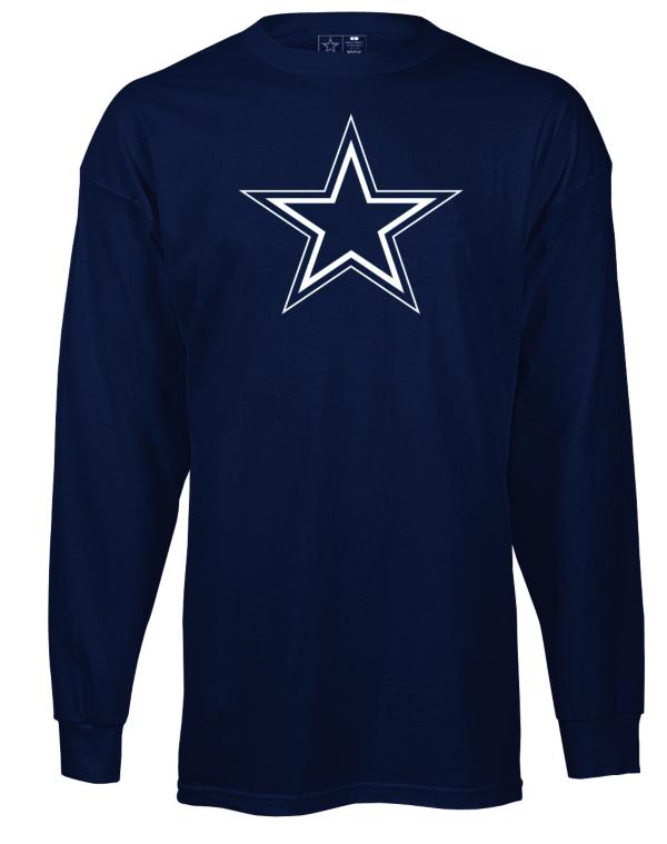 Dallas Cowboys Youth Logo Premier Long Sleeve Tee