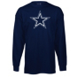 Dallas Cowboys Youth Logo Premier Long Sleeve T-Shirt