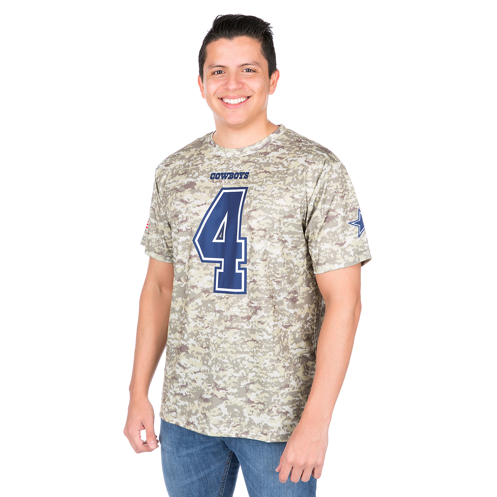 Dallas Cowboys Dak Prescott Windsor Tee
