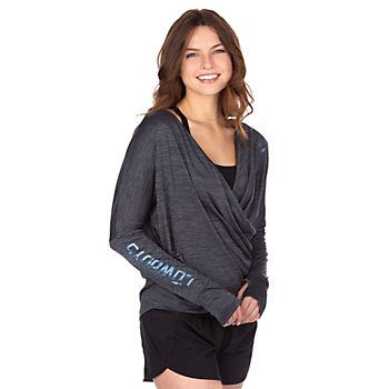 Dallas Cowboys Shock Altair Long Sleeve Crossover Top