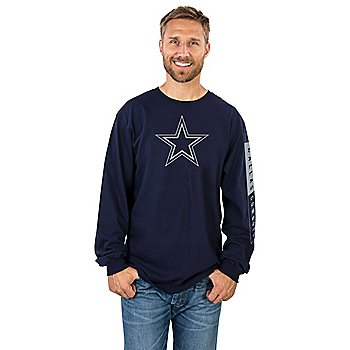 Dallas Cowboys Mens Blockade Long Sleeve T-Shirt