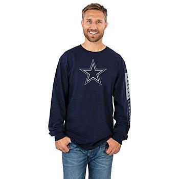 Dallas Cowboys Mens Blockade Long Sleeve T-Shirt