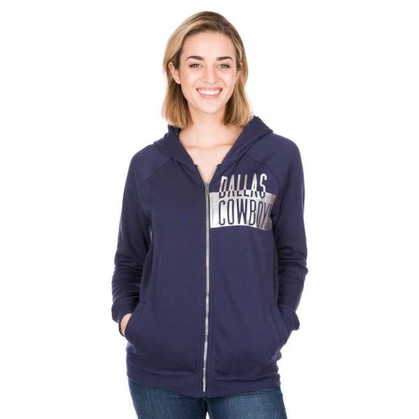 Dallas Cowboys Brianna Full-Zip Hoody