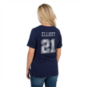 Dallas Cowboys Womens Ezekiel Elliott #21 Bubbled Name and Number Tee