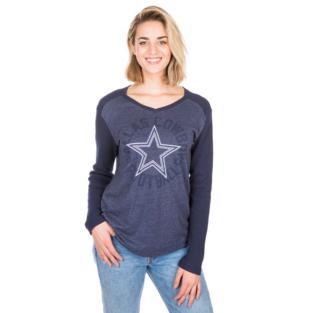 Dallas Cowboys Celeste Long Sleeve Tee