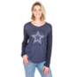 Dallas Cowboys Celeste Long Sleeve Tee