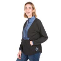 Dallas Cowboys Shock Danny Half-Zip Jacket