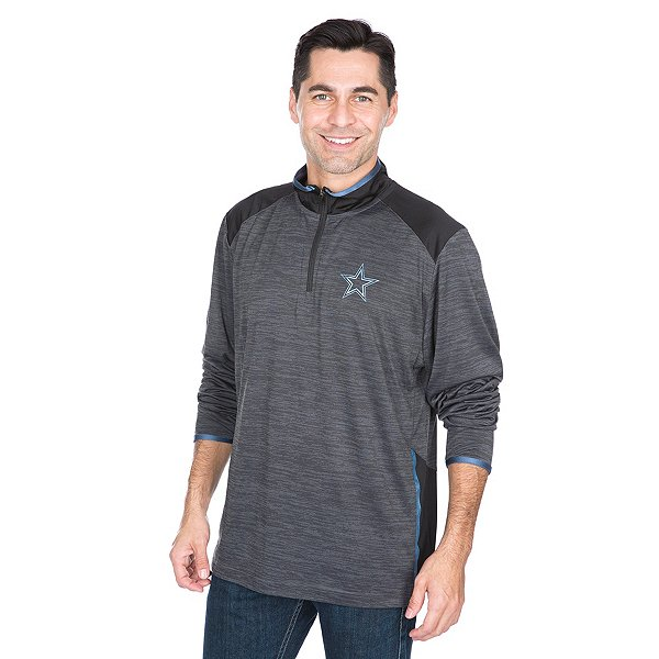 Dallas Cowboys Shock Daze Quarter-Zip Pullover