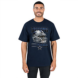 Dallas Cowboys Fierce Helmet Tee