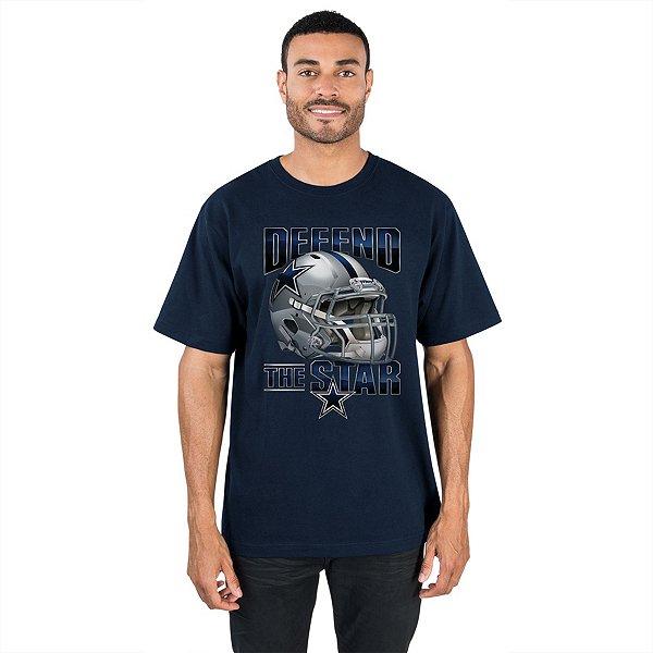 Dallas Cowboys Mens Fierce Helmet Tee