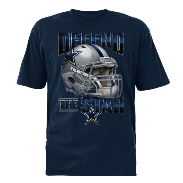 Dallas Cowboys Youth Fierce Helmet Tee