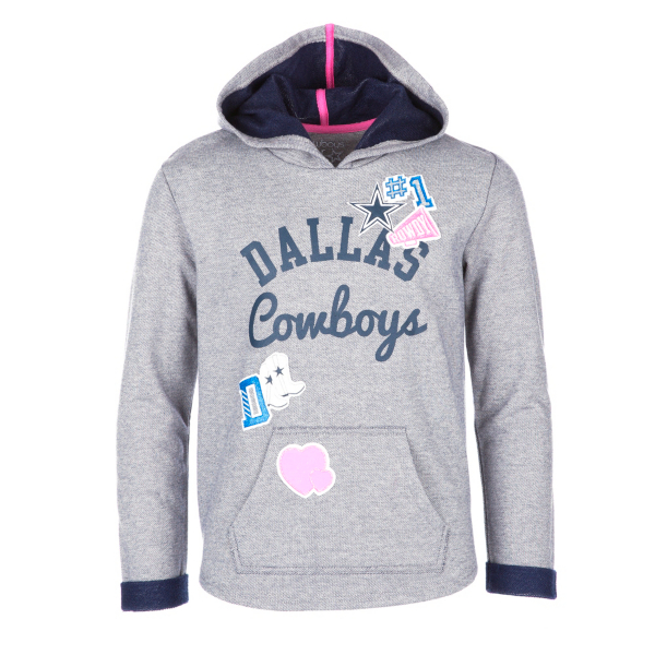 Dallas Cowboys Girls Holly Hoody