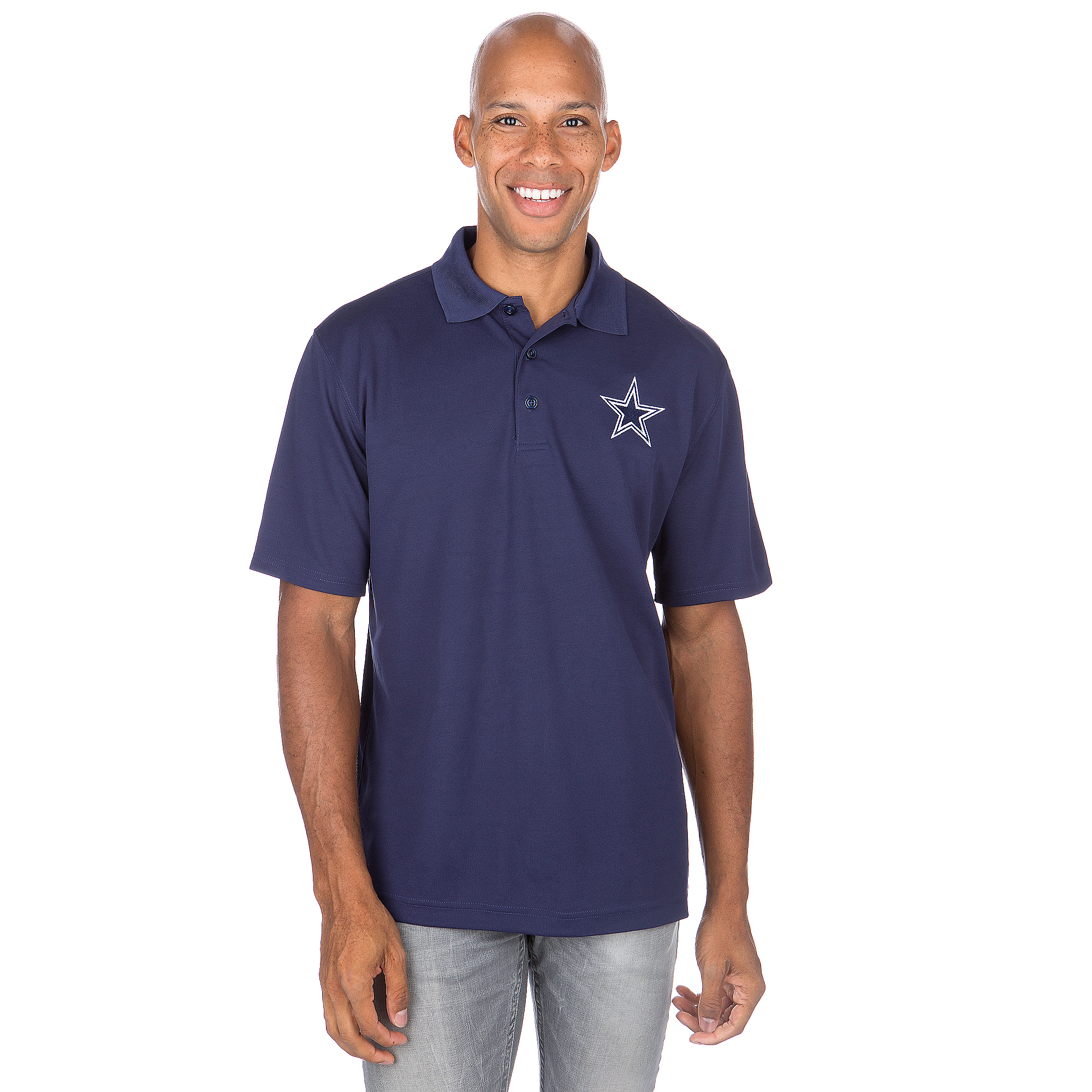 Dallas Cowboys Logo Premier EMB Polo