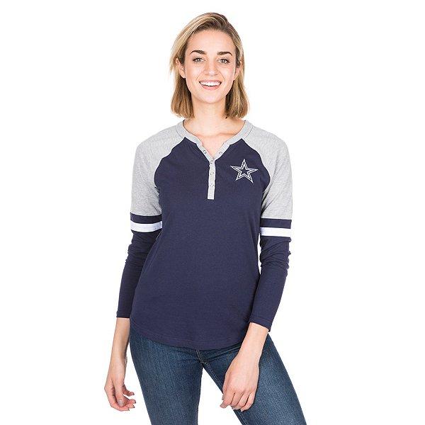 Dallas Cowboys Womens Nilly Long Sleeve T-Shirt