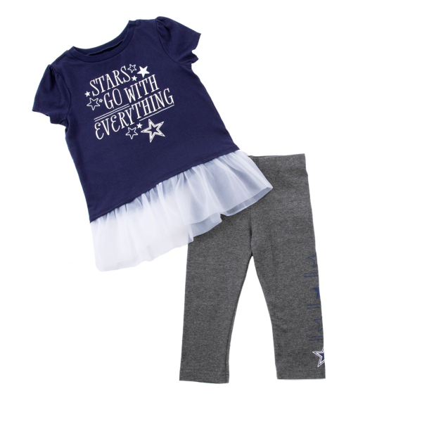 Dallas Cowboys Infant Peppie Set