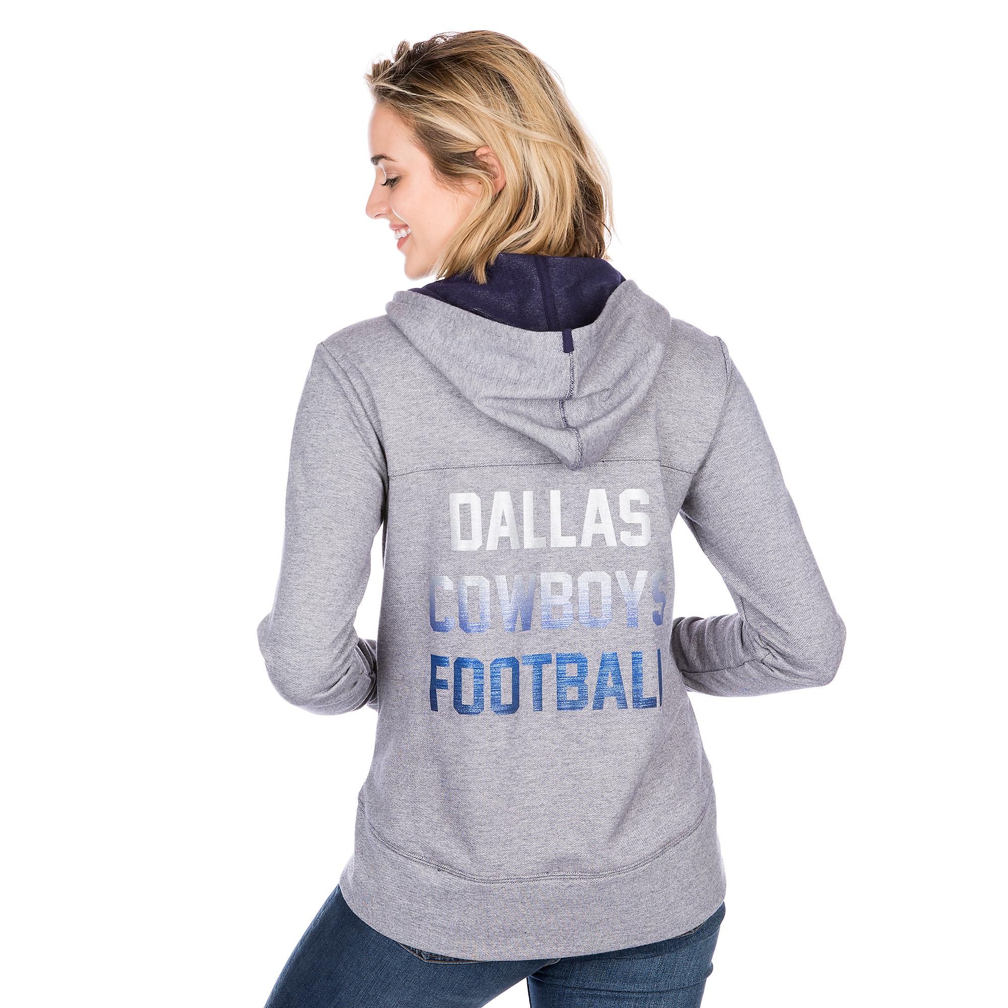 Dallas Cowboys Portia Quarter-Zip Hoody