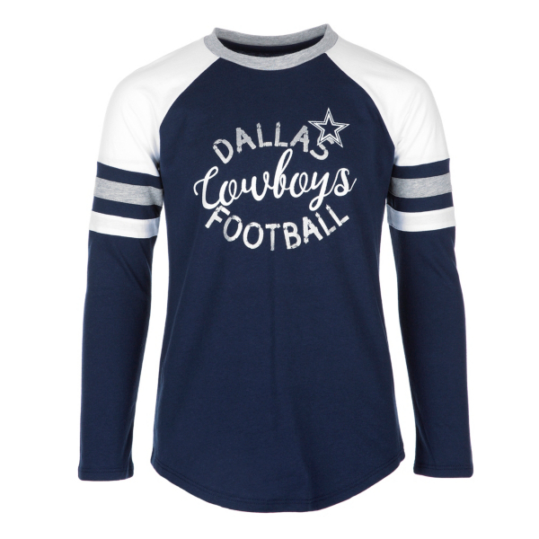 Dallas Cowboys Girls Prim Tee
