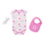 Dallas Cowboys Infant Sissy Bib Bodysuit Set