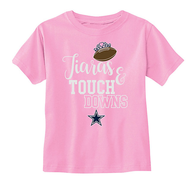 Dallas Cowboys Toddler Tamara Short Sleeve Tee