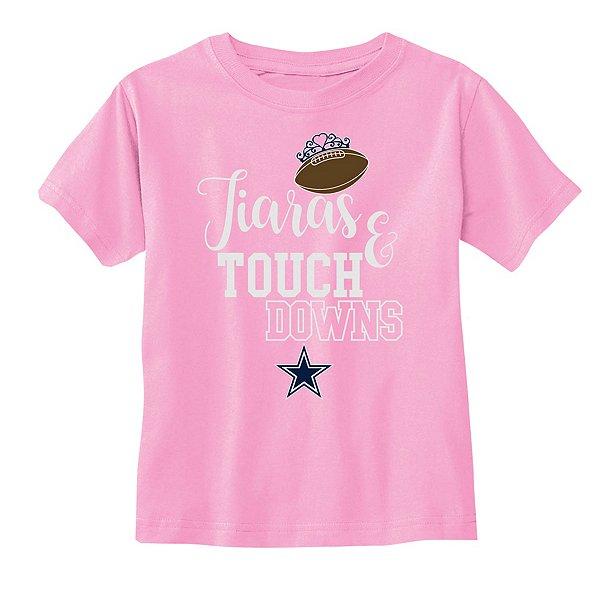 Dallas Cowboys Toddler Tamara Short Sleeve Tee