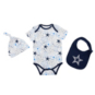 Dallas Cowboys Infant Tuffy Hat Bib Bodysuit Set