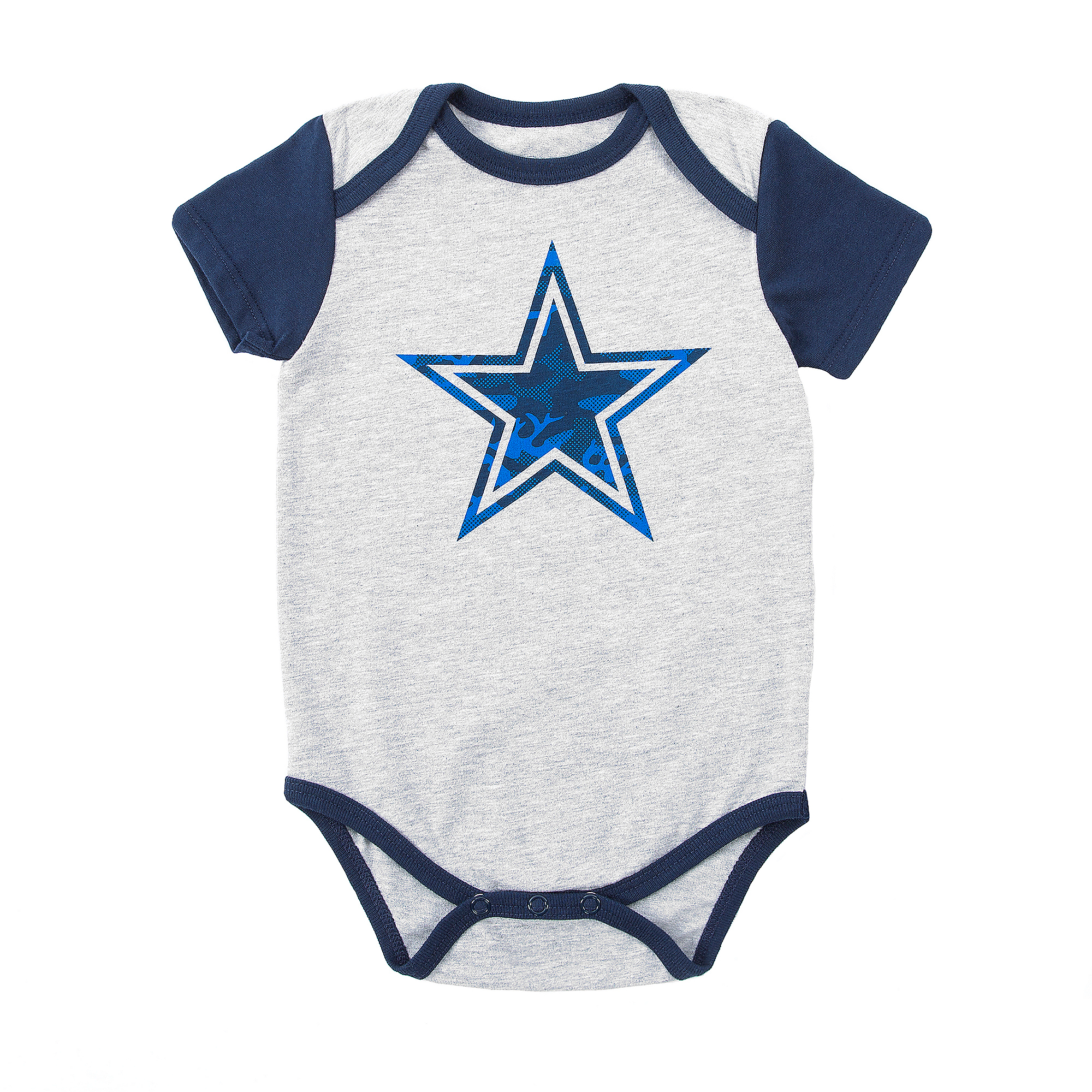 296db7fa6bb Dallas Cowboys Infant Vito 2-Pack Bodysuit Set | Dallas Cowboys Pro Shop