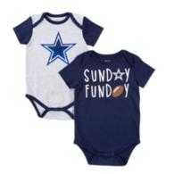 Dallas Cowboys Infant Vito 2-Pack Bodysuit Set